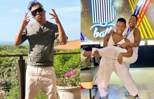 Somizi and the Qwabe twins serve dance moves