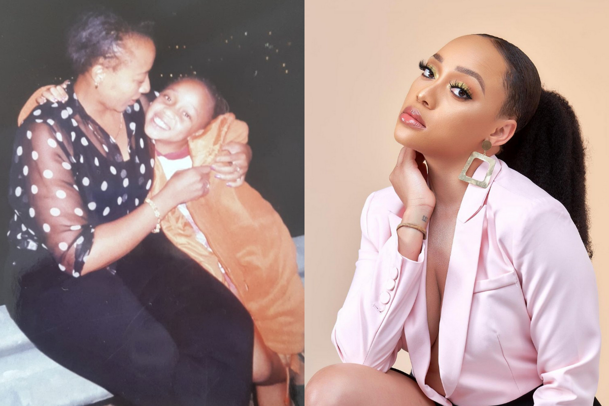 Thando Thabethe's Mother Reacts After Thando Bought Her A House