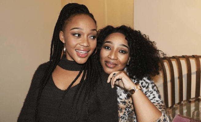Watch: Actress Thando Thabethe buys her mother a beautiful house