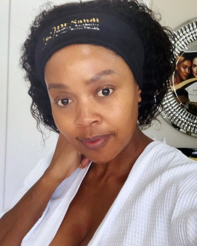 Gomora star Thembi Seete goes for anti-aging treatment