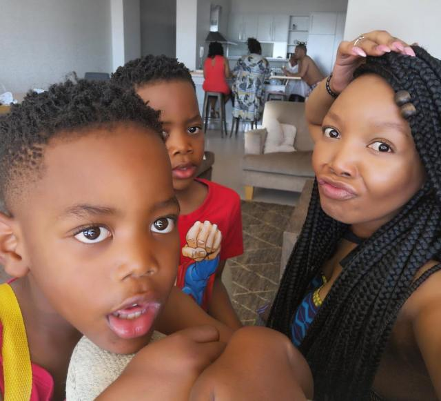 Thembisa Mdoda's sweet Message for her Twin boys is just too cute