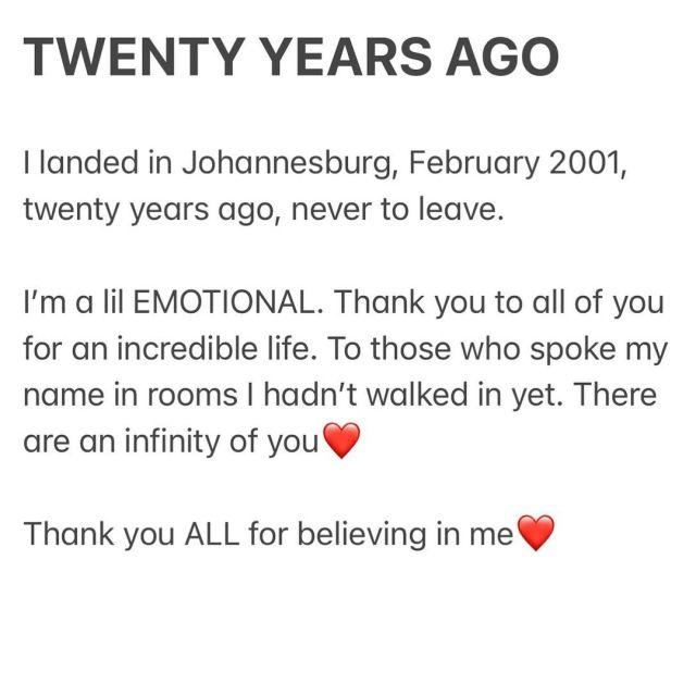 Idols SA Judge Unathi celebrates 20 years of coming to Johannesburg