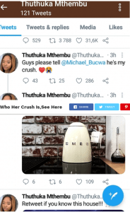 Uzalo Actress Thuthuka Mthembu (Nonka) Reveals Who Her Crush Is