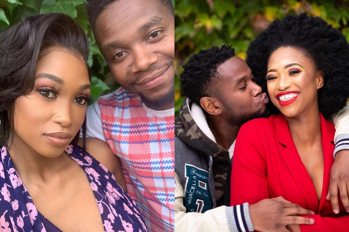 'I Love You My King' Zola Nombona has taken to social media to celebrate her husband, Thomas Gumede