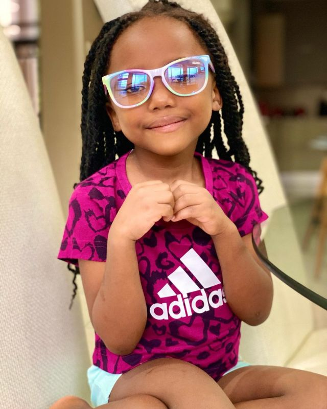 DJ Tira's daughter, Chichi rocks Kairo Forbes new range of sunglasses
