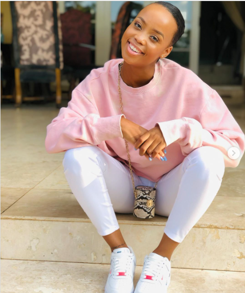 Actress Ntando Duma Gifted Money For Being Mom Of The Year