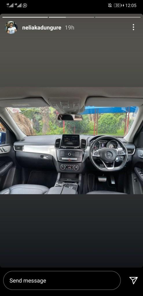 Ginimbi's sister Nelia Kadungure now selling cars