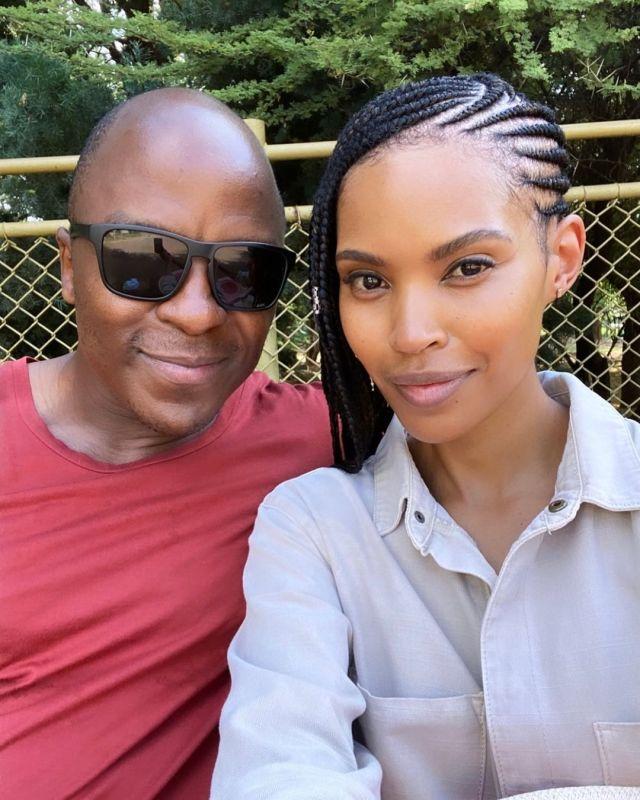 Gail Mabalane and Kabelo celebrates 8th wedding anniversary