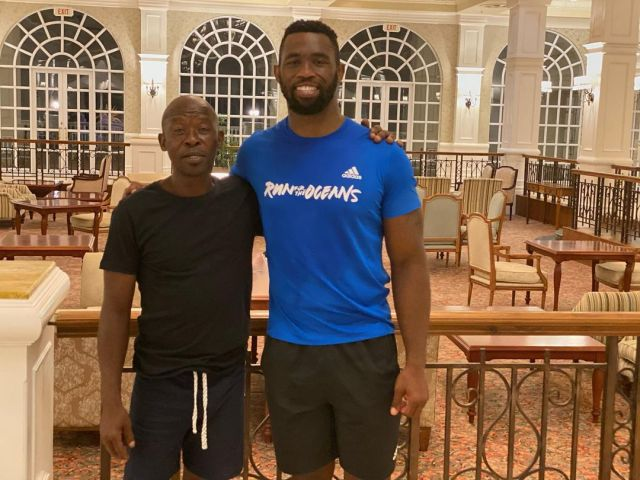 Siya Kolisi wants to mend his relationship with his dad