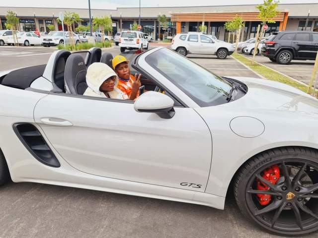 Watch: Master KG flaunts his luxurious car