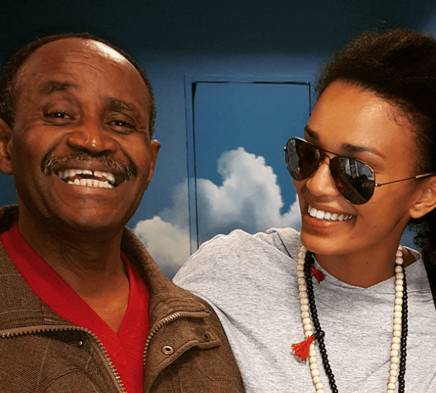 Watch: Pearl Thusi remembers her late father a year after passing