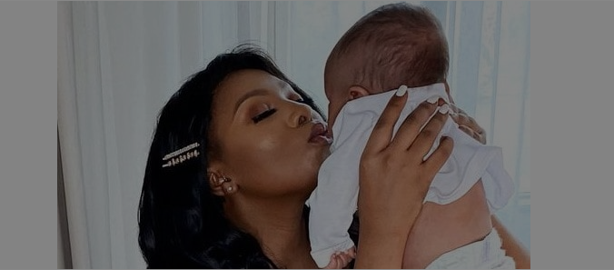 Television presenter Pearl Modiadie Gushes Over Her Son And Baby Daddy