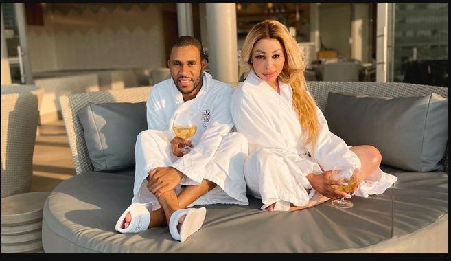 Khanyi Mbau makes her new man Instagram official