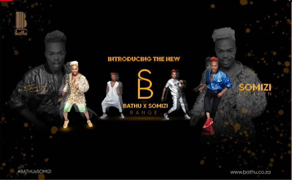 Somizi Releases #BathuXSomizi Sneaker Line