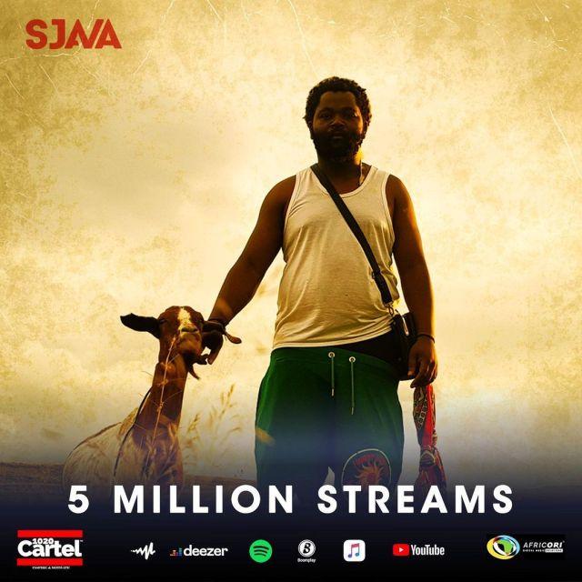 Sjava's Umsebenzi EP bags 5 million streams
