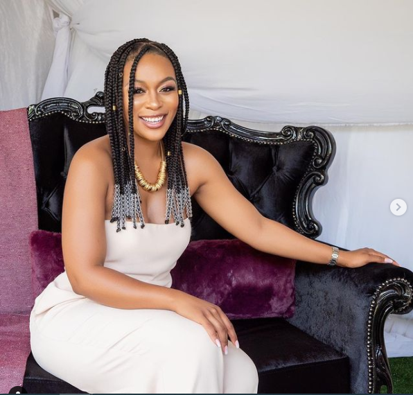 Nomzamo Mbatha is grateful to be a part of 'Coming 2 America'