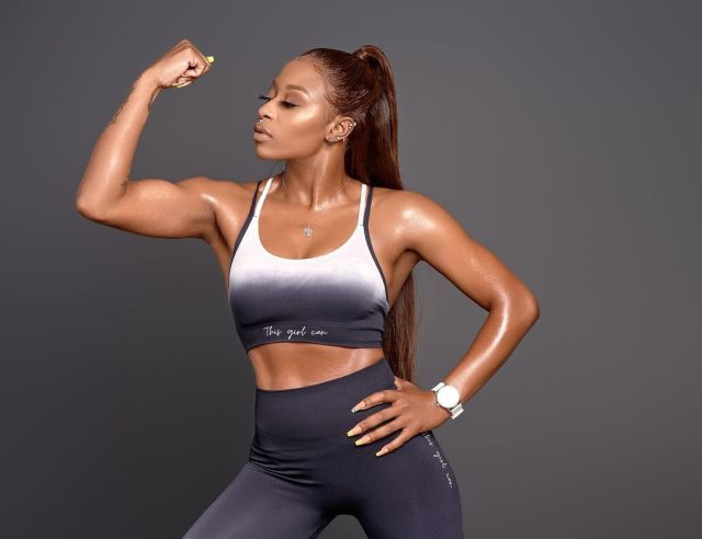 DJ Zinhle announces first in-store launch of activewear range