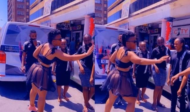 Zodwa Wabantu in trouble for not wearing a mask in public again