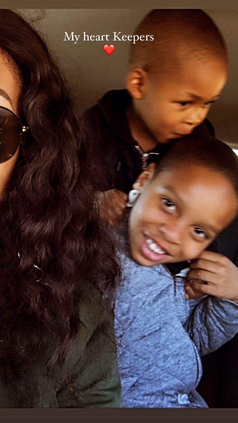 social media influencer Kefilwe Mabote Celebrates Her Son's Birthday