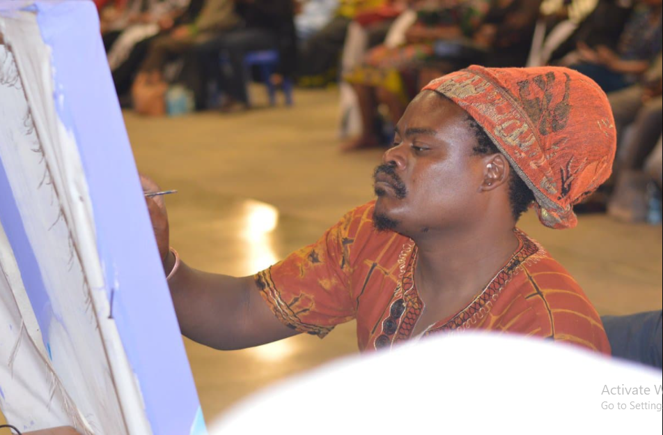 Rasta Applauded For Impressive Painting Of The Late King