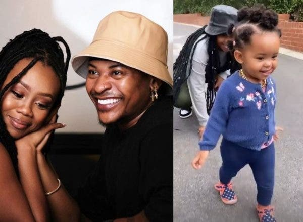 Watch: Bontle Modiselle and Priddy Ugly's daughter rocks a gold chain