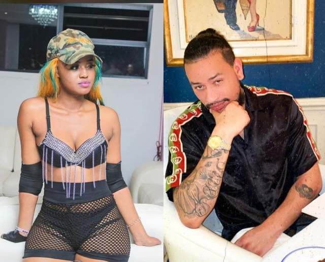 Watch: Mampintsha goes mad after seeing Babes Wodumo standing with AKA