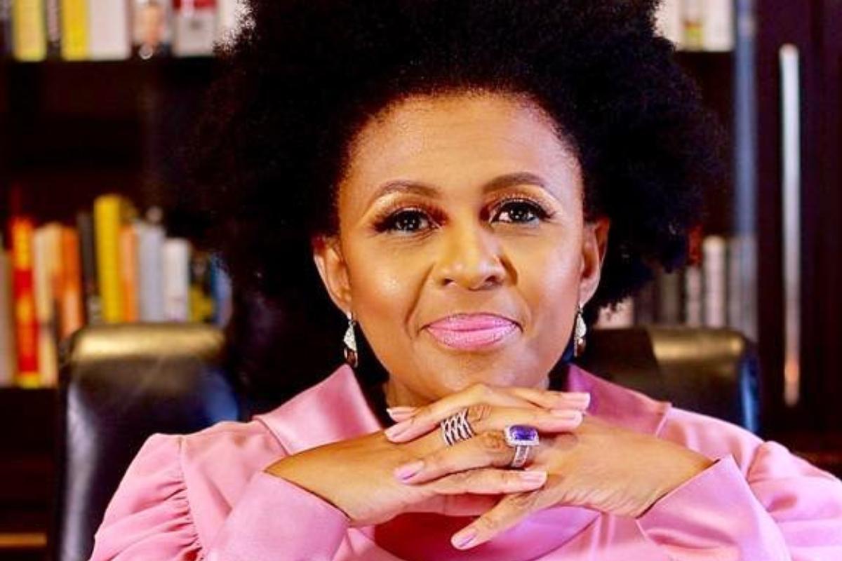 Check Out The Beautiful Message Former Miss SA Basetsana Kumalo Penned For Herself