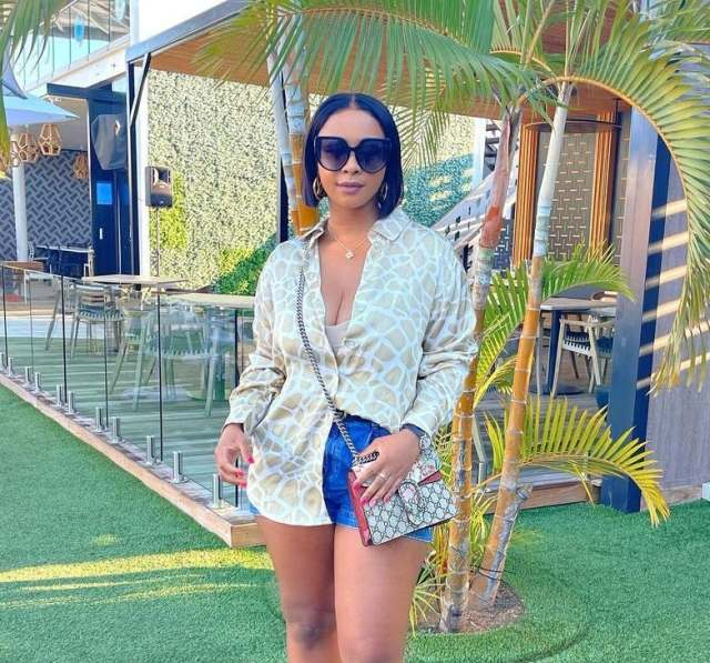 Boity Thulo causes a stir after being spotted parting with ex-Boyfriend: Pics & Videos
