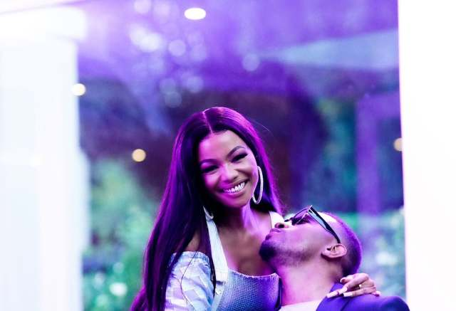 Kissing photos cause confusion – Is this Bonang Matheba's new Boyfriend?