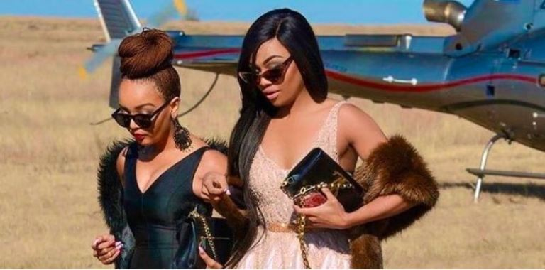 Bonang And Her Cousin Pinky Girl Losses A Loved One