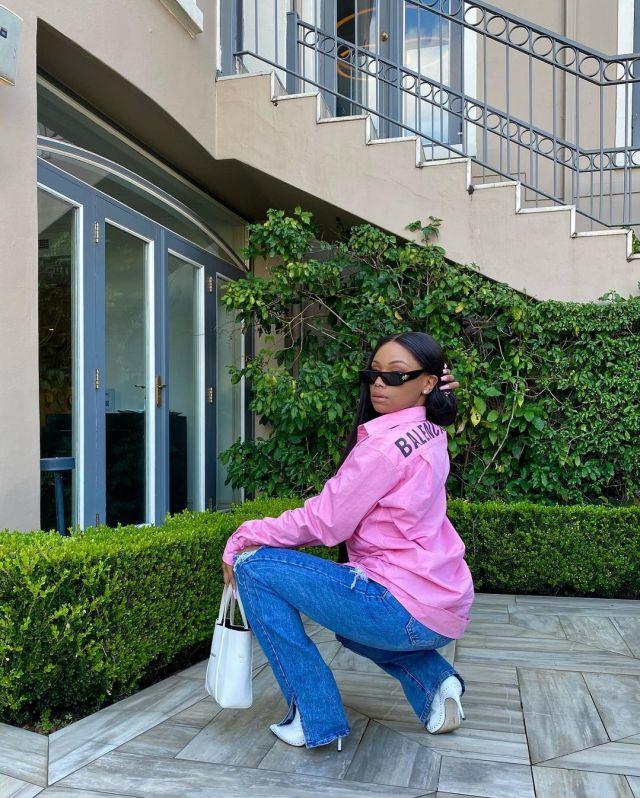 Bonang Matheba back on Instagram in sizzling pictures