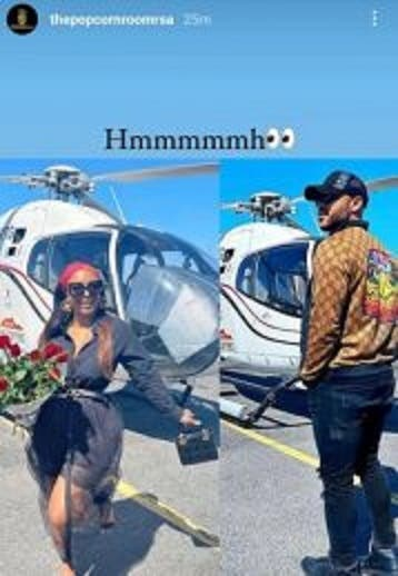Photo: Are Boity and actor Anton David Jeftha official?