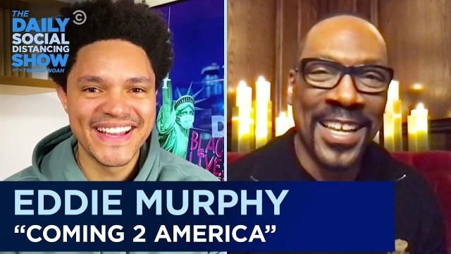 Actor Eddie Murphy appreciates Trevor Noah for being part of 'Coming 2 America' – VideoActor Eddie Murphy appreciates Trevor Noah for being part of 'Coming 2 America' – Video