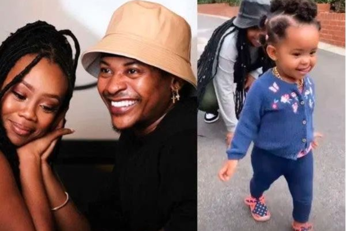 Bontle Modiselle And Priddy Ugly's Daughter Rocks A Gold Chain