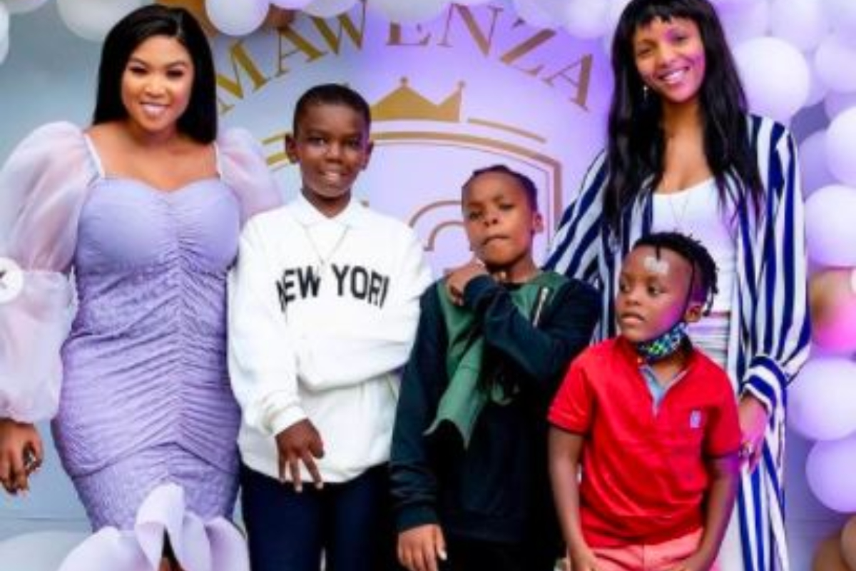 Inside Late Gospel Star Sfiso And Ayanda Ncwane's Son's Birthday Celebration (Photos)