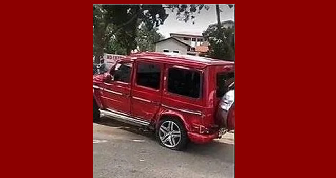 Man crashes rented Mercedes-Benz G-Wagon trying to impress a girl he liked (VIDEO)