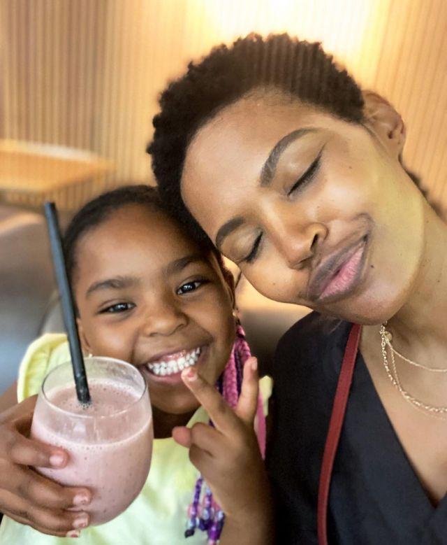 Actress Gail Mabalane celebrates daughter 6th birthday – Photos