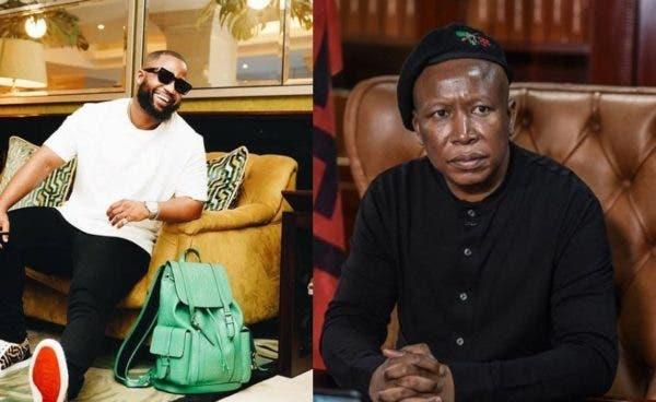 Cassper Nyovest asks Julius Malema to predict his future