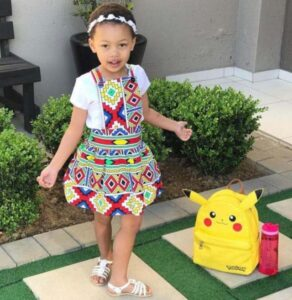 AKA and DJ Zinhle's 5-year-old daughter Kairo under fire after paying tribute to late King Goodwill Zwelithini