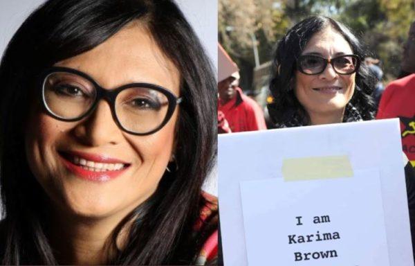 eNCA Journalist Karima Brown dies of COVID-19