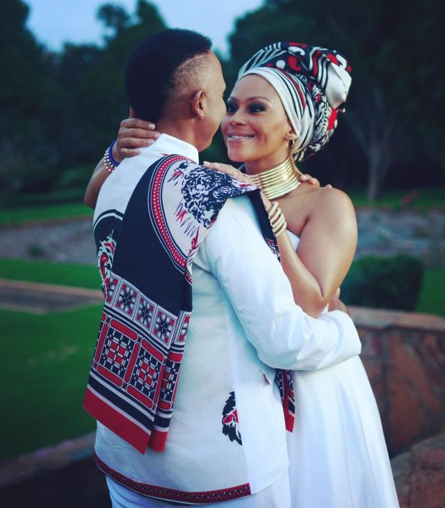 Actress Letoya Makhene gushes over her lover as she makes a come back to social media