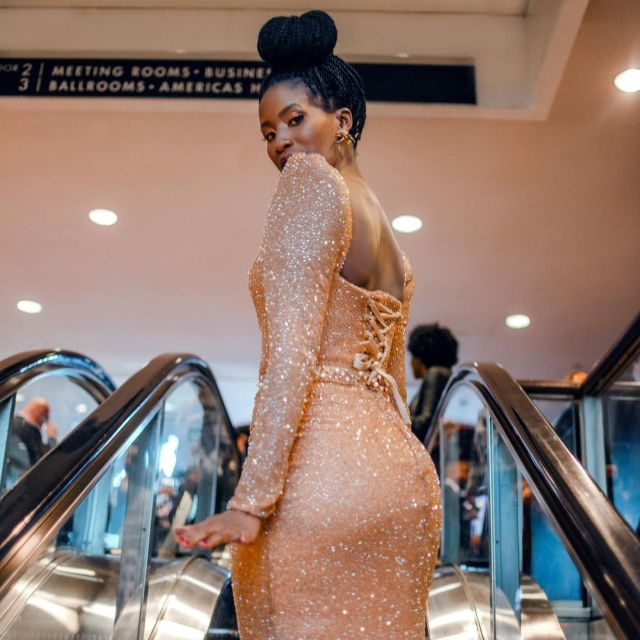 South African actress Mzansi Celebs Show Up For Masasa Mbangeni On Her Birthday