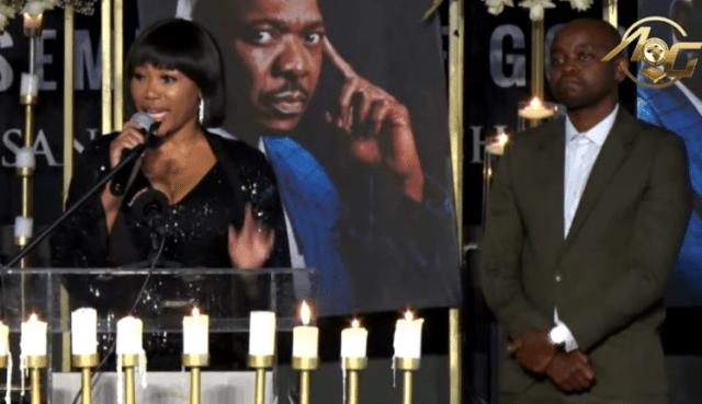 Sad moments: Inside actor Menzi Ngubane's memorial service