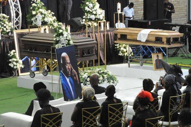 Menzi Ngubane and his father Ndodeni Ngubane laid to rest