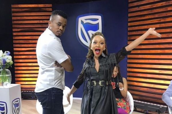 Thando Thabethe and Mpho Popps take dance lessons from Master KG – Video