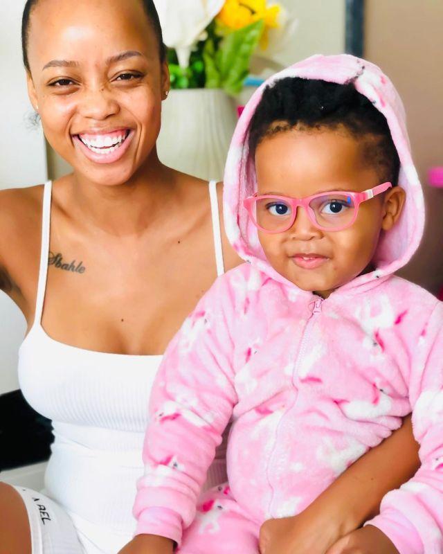 Ntando Duma to take daughter Sbahle Off Social Media