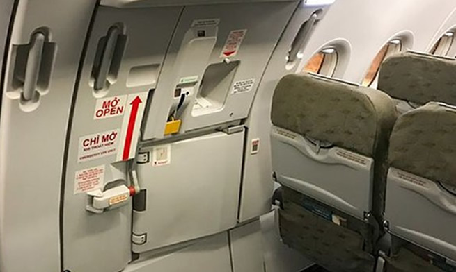 I thought it was the toilet entrance – Chaos as passenger opens airplane emergency door