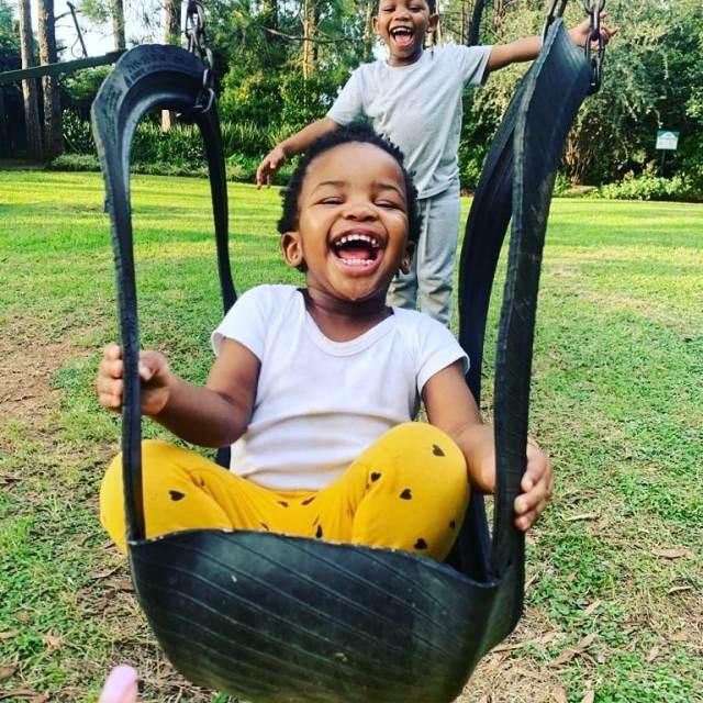 Nandi And Zakes Bantwini Celebrate Their Daughter's Birthday