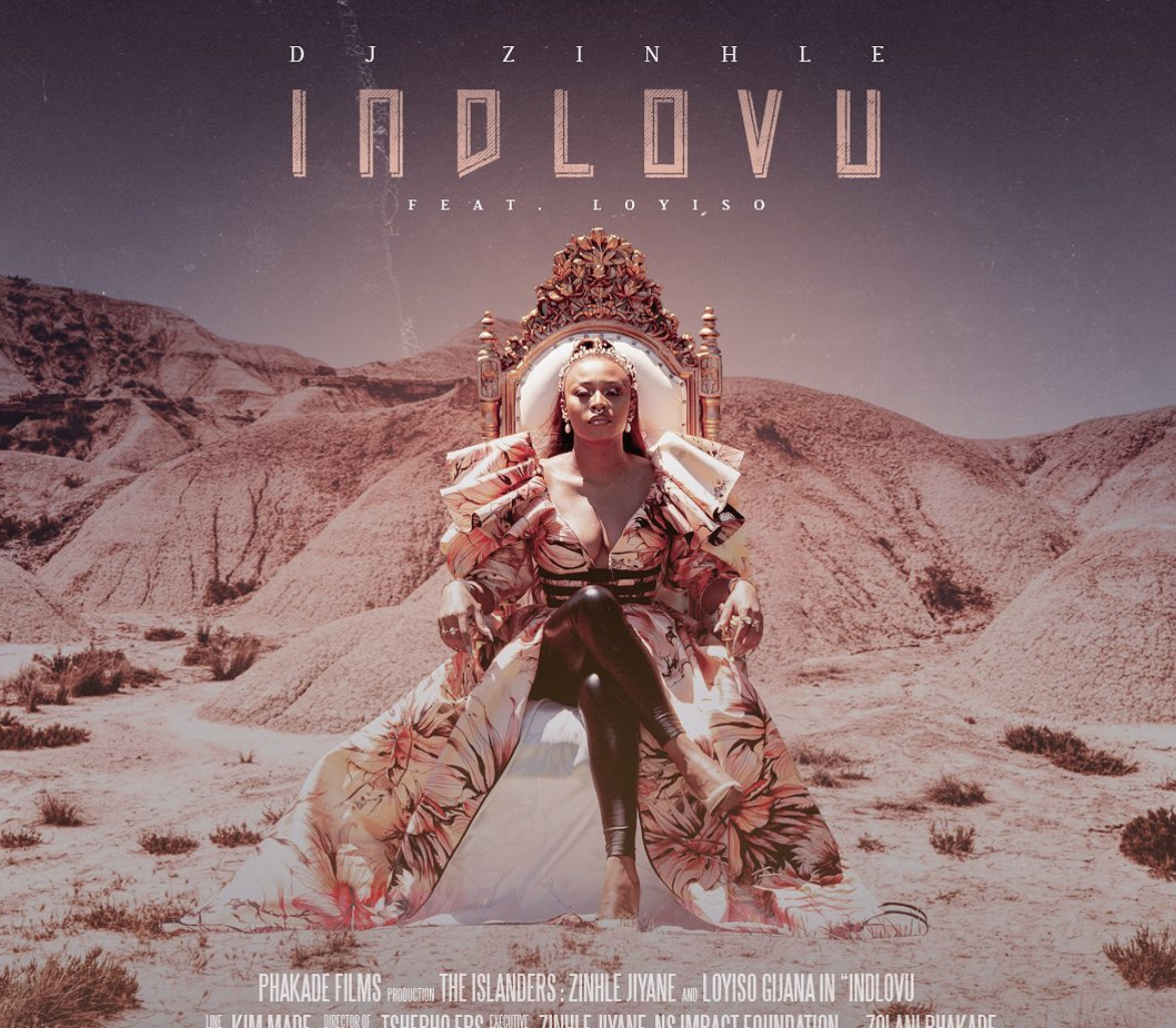 DJ Zinhle To Release The Video For Her INDLOVU Track On Friday
