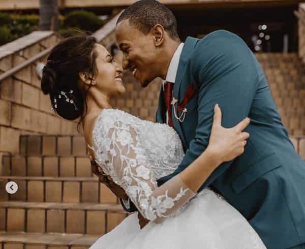 See How Bohang Moeko And Shantal Dietrich Are Spending Their Honeymoon (Watch)